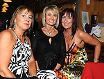 Mary Lambe, Sandra kierans and Siobhan Donnelly pictured at the captains dinner in Seapoint golf club. Photo: Colin Bell/pressphotos.ie