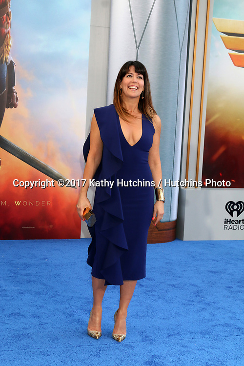 """LOS ANGELES - MAY 25:  Patty Jenkins at the """"Wonder Woman"""" Los Angeles Premiere at the Pantages Theater on May 25, 2017 in Los Angeles, CA"""