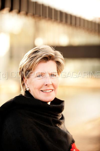 Sonja Rottiers, CFO of AXA Belgium (Belgium, 27/04/2016)