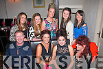 SEVEENTEEN: Katie Horan, Killeen Rd, Tralee (seated 2nd right) was treated to a fab 17th birthday party in Cassidy's, Tralee last Friday night (seated) l-r: Tony and Lucy O'Shea, Katie Horan and Kathleen O'Shea. Back l-r: Shauna O'Shea, Jamie Lee and Yvonne Duggan with Chantelle and Evelyn O'Sullivan.