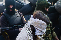 Pro-Russian militia in Slovyansk
