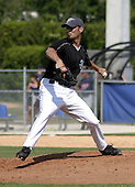 March 29, 2004:  Pitcher Jason Kershner of the Toronto Blue Jays organization during Spring Training at Dunedin Stadium in Dunedin, FL.  Photo by:  Mike Janes/Four Seam Images