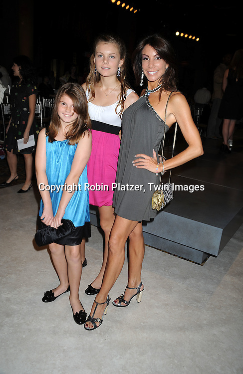 Danielle Staub of The Realhousewives of New Jersey and daughters Jillian and Christine