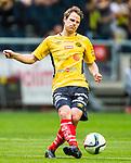 Solna 2015-07-26 Fotboll Allsvenskan AIK - IF Elfsborg :  <br /> Elfsborgs Henning Hauger i aktion under matchen mellan AIK och IF Elfsborg <br /> (Foto: Kenta J&ouml;nsson) Nyckelord:  AIK Gnaget Friends Arena Allsvenskan Elfsborg IFE portr&auml;tt portrait