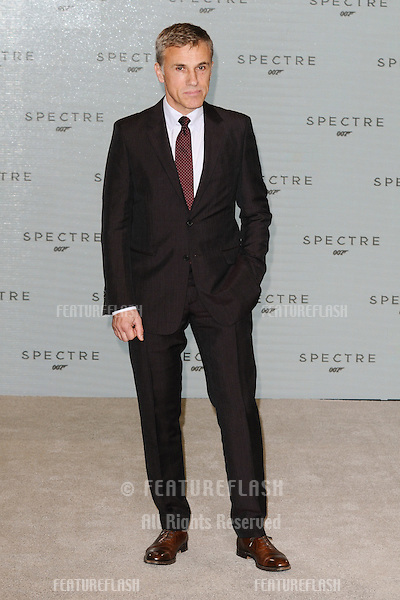 "Christoph Waltz at the announcement of the start of filming on the new James Bond movie ""Spectre"" at Pinewood Studios, London. 04/12/2014 Picture by: Steve Vas / Featureflash"