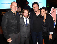 FAMILY GUY: L-R: Cast members Mike Henry and Seth Green, Creator/Executive Producer/Cast Member Seth MacFarlane and cast member Mila Kunis attend the FAMILY GUY 300th Episode Celebration on Wednesday, Jan. 10, 2018 at Cicada Restaurant in Los Angeles, CA. (Photo by Frank Micelotta/FOX/PictureGroup)