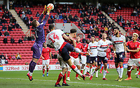 Dillon Phillips of Charlton Athletic collects the cross during Charlton Athletic vs Middlesbrough, Sky Bet EFL Championship Football at The Valley on 7th March 2020