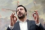 Matteo Salvini con l'Osservatorio nazionale a sostegno delle vittime di violenza