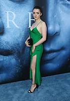 "LOS ANGELES, CA July 12- Maisie Williams,  At Premiere Of HBO's ""Game Of Thrones"" Season 7 at The Walt Disney Concert Hall, California on July 12, 2017. Credit: Faye Sadou/MediaPunch"
