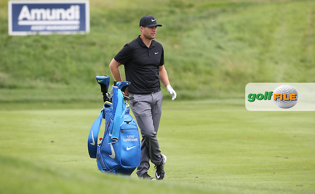 Lucas Bjerregaard (DEN) during the Wednesday Pro-Am ahead of the 100th Open de France, played at Le Golf National, Guyancourt, Paris, France. 29/06/2016. Picture: David Lloyd   Golffile.<br /> <br /> All photos usage must carry mandatory copyright credit (&copy; Golffile   David Lloyd)