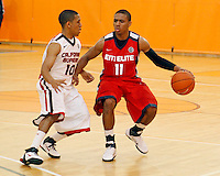 April 9, 2011 - Hampton, VA. USA;  Joel Berry participates in the 2011 Elite Youth Basketball League at the Boo Williams Sports Complex. Photo/Andrew Shurtleff