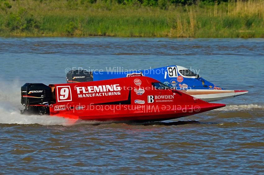 Johnny Fleming (#9) and David Johnigan (#91)           (Formula 1/F1/Champ class)