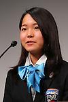 Sara Takanashi, MARCH 4, 2013 : IOC Evaluation Commission visit at Hotel Okura in Tokyo, Japan. (Photo by AFLO SPORT)