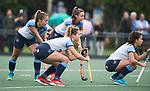 AMSTELVEEN - Yentl Leemans (Hurley)  Hoofdklasse competitie dames, Hurley-HDM (2-0) . FOTO KOEN SUYK