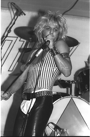 MOTLEY CRUE performing live at The Whisky A-Go-Go inHollywood, CA USA in 1981.  Photo © Kevin Estrada / Media Punch