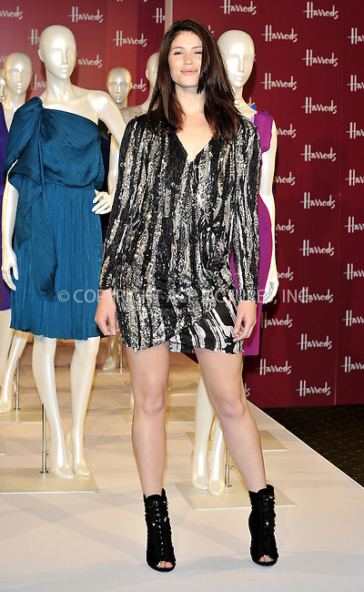 WWW.ACEPIXS.COM . . . . .  ..... . . . . US SALES ONLY . . . . .....June 18 2011, London....Actress Gemma Arterton launches the Harrods Summer Sale on June 18 2011 in London....Please byline: FAMOUS-ACE PICTURES... . . . .  ....Ace Pictures, Inc:  ..Tel: (212) 243-8787..e-mail: info@acepixs.com..web: http://www.acepixs.com