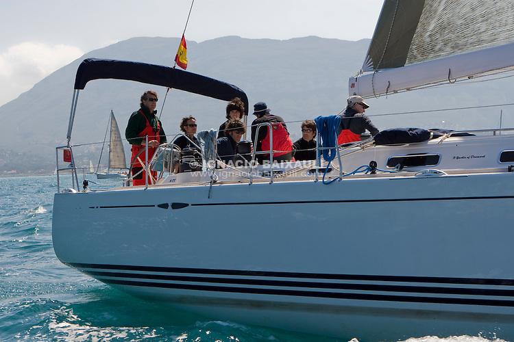 ESP 9383 MUCH &amp; MORE Jos&eacute; Fabre X-YACHTS 55 Independiente <br /> Salida de la 22 Ruta de la Sal 2009 Versi&oacute;n Este, Denia, Alicante, Espa&ntilde;a