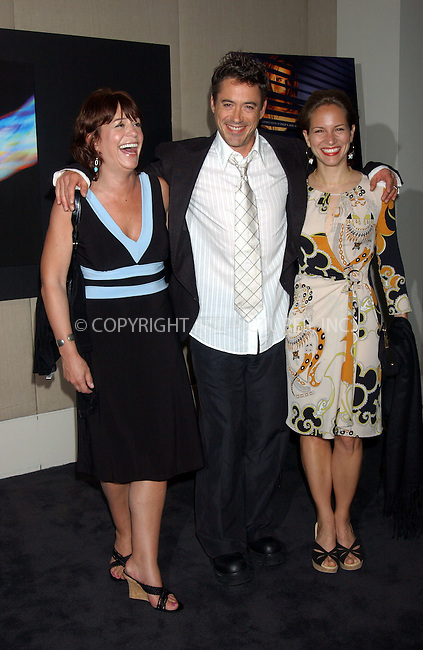 WWW.ACEPIXS.COM . . . . . ....July 05, 2006, New York City. ....Robert Downey Jr with wife Susan and Allyson Downey attend the screening of 'A Scanner Darkly'.......Please byline: KRISTIN CALLAHAN - ACEPIXS.COM.. . . . . . ..Ace Pictures, Inc:  ..(212) 243-8787 or (646) 769 0430..e-mail: info@acepixs.com..web: http://www.acepixs.com