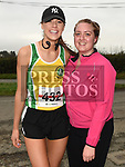 Emily Rogers and Sarah Haak who took part in the Noel Carroll 10k race at Annagassan. Photo:Colin Bell/pressphotos.ie