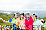 Maura Dillon Duagh, Eilish Dillon, Duagh, Tessa Hempel, Reading and AIne Dillon Duagh Cyclists at the Ring of Kerry Charity Cycle on Saturday.