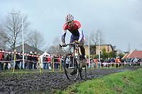 WIELRENNEN: SURHUISTERVEEN: Centrumcross, 20-12-11, Lars Boom, ©foto: Martin de Jong