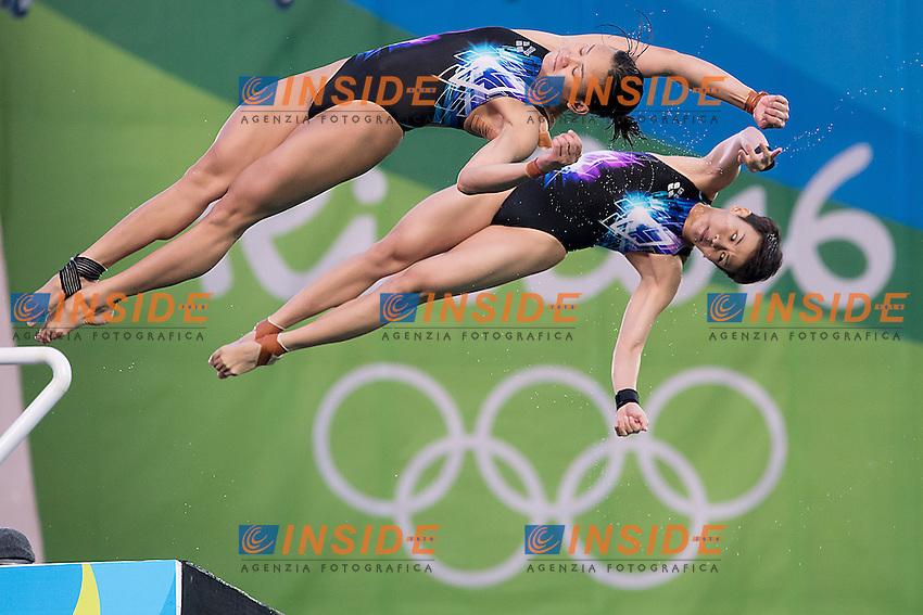 10m synchro women<br /> MAS CHEONG Jun Hoong PAMG Pandelela Rinong<br /> Rio de Janeiro XXXI Olympic Games <br /> Olympic Aquatics Stadium <br /> diving 09/08/2016<br /> Photo Giorgio Scala/Deepbluemedia/Insidefoto