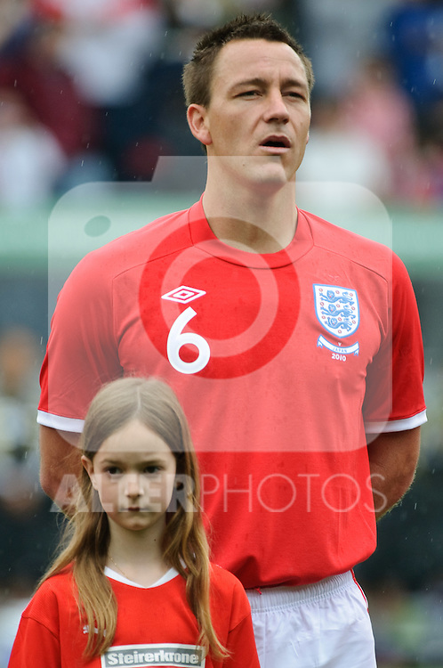 30.05.2010, UPC Arena, Graz, AUT, WM Vorbereitung, Japan vs England, im Bild John Terry, England, EXPA Pictures © 2010, PhotoCredit: EXPA/ S. Zangrando