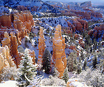 USA; Utah; Bryce Canyon National Park; Winter.