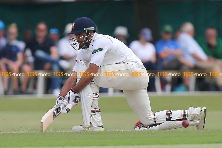 Ravi Bopara in batting action for Essex during Surrey CCC vs Essex CCC, Specsavers County Championship Division 1 Cricket at Guildford CC, The Sports Ground on 10th June 2017