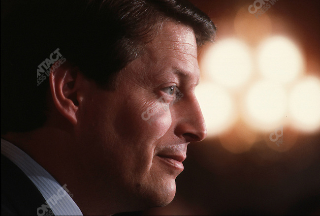 Al Gore, Senator TN, US Capitol, Washington D.C., April 1987