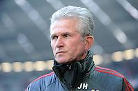 FUSSBALL   1. BUNDESLIGA  SAISON 2011/2012   21. Spieltag FC Bayern Muenchen - 1. FC Kaiserslautern       11.02.2012 Trainer Jupp Heynckes  (FC Bayern Muenchen)