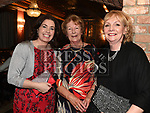 Ruth Dunne, Helene Little and Marie McKenny at the Ardee Traders Dinner in Muldoons. Photo:Colin Bell/pressphotos.ie
