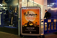A Halloween theme in the Club Shop at Chelsea pre-match during Chelsea vs Derby County, Caraboa Cup Football at Stamford Bridge on 31st October 2018