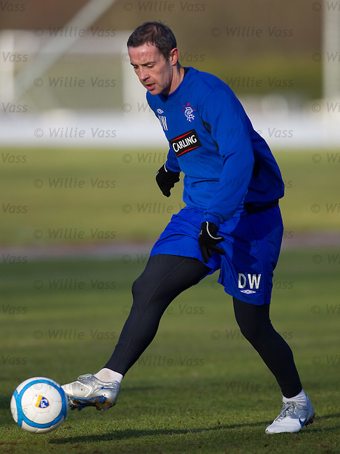 David Weir at training