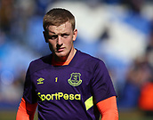 9th September 2017, Goodison Park, Liverpool, England; EPL Premier League Football, Everton versus Tottenham; Jordan Pickford of Everton during the pre match warm up
