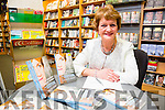 Kathleen Ward from Ballyheigue signing her book A Violation Against Women What Happened to Me at Our Lady of Lourdes at O'Mahony's Book Shop on Saturday