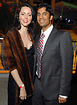Rachel Walton and Mahek Shah at the Houston Young People for the Arts Fire & Ice Gala at the Houston Pavilions Saturday Jan. 24, 2009.(Dave Rossman/For the Chronicle)