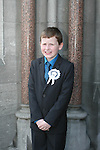Brian Purdy at the St. Marys Congress Avenue Communion in St. Marys Church...Photo NEWSFILE/Jenny Matthews.(Photo credit should read Jenny Matthews/NEWSFILE)....This Picture has been sent you under the condtions enclosed by:.Newsfile Ltd..The Studio,.Millmount Abbey,.Drogheda,.Co Meath..Ireland..Tel: +353(0)41-9871240.Fax: +353(0)41-9871260.GSM: +353(0)86-2500958.email: pictures@newsfile.ie.www.newsfile.ie.FTP: 193.120.102.198.