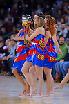 Turkish Airlines Euroleague 2017/2018.<br /> Regular Season - Round 23.<br /> FC Barcelona Lassa vs R. Madrid: 74-101.<br /> Dream Cheers.