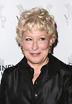 Bette Midler attends the Off-Broadway opening Night Performance of 'Billy & Ray' at the Vineyard Theatre on October 20, 2014 in New York City.