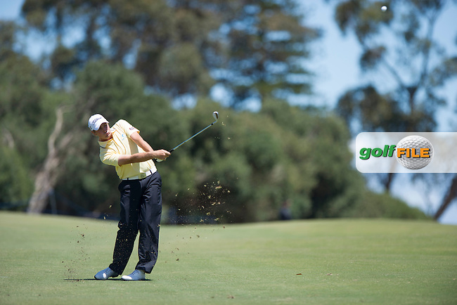 Jake Higginbottom was the low amateur at the 2012 Australian Masters at Kingston Heath in Melbourne (Photo: Anthony Powter) www.golffile.ie
