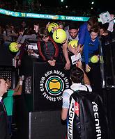 Rotterdam, The Netherlands, 17 Februari 2019, ABNAMRO World Tennis Tournament, Ahoy, Final, Doubles, Jeremy Chardy (FRA),<br /> Photo: www.tennisimages.com/Henk Koster