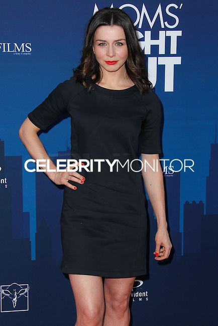 "HOLLYWOOD, LOS ANGELES, CA, USA - APRIL 29: Caterina Scorsone at the Los Angeles Premiere Of TriStar Pictures' ""Mom's Night Out"" held at the TCL Chinese Theatre IMAX on April 29, 2014 in Hollywood, Los Angeles, California, United States. (Photo by Xavier Collin/Celebrity Monitor)"