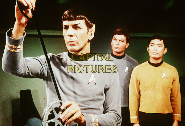 &quot;Star Trek&quot; (1966)<br /> Season 1 - Episode 19 - Publicity still of Leonard Nimoy, George Takei &amp; DeForest Kelley <br /> *Editorial Use Only*<br /> CAP/NFS<br /> Image supplied by Capital Pictures