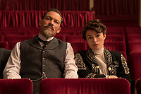COLETTE (2018)<br /> Dominic West stars as Willy and Keira Knightley as Colette<br /> *Filmstill - Editorial Use Only*<br /> CAP/FB<br /> Image supplied by Capital Pictures