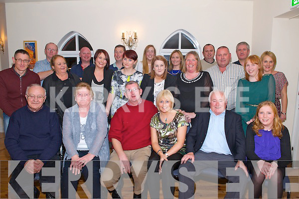 Colm Galvin celebrating his 50th Birthday with friends and family in The Kerry Way Glenflesk last Saturday night.