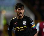 David Silva of Manchester City with a rainbow laces armband during the Premier League match at Turf Moor, Burnley. Picture date: 3rd December 2019. Picture credit should read: Simon Bellis/Sportimage