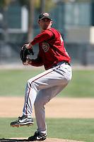 Brett Moorhouse - Arizona Diamondbacks - 2009 spring training.Photo by:  Bill Mitchell/Four Seam Images