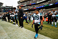 10/22/18: Photography courage of the Carolina Panthers v. The Philadelphia Eagles at Lincoln Financial Stadium in Philadelphia, PA.<br /> <br /> Charlotte Photographer - PatrickSchneiderPhoto.com