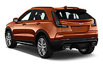 Car pictures of rear three quarter view of 2019 Cadillac XT4 Sport 5 Door SUV Angular Rear